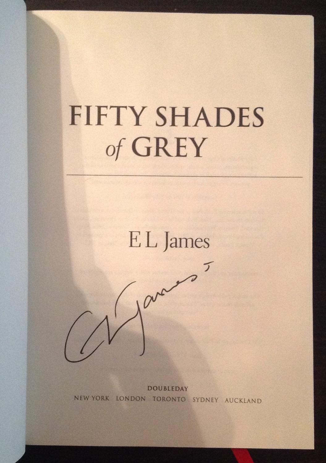 Fifty Shades Of Grey First Book