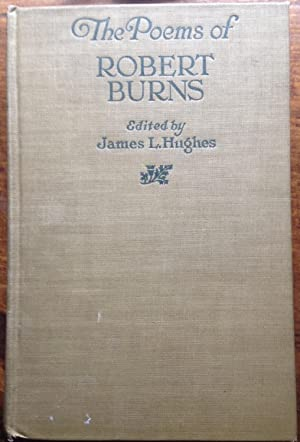 The Poems of Robert Burns (Inscribed by Editor)