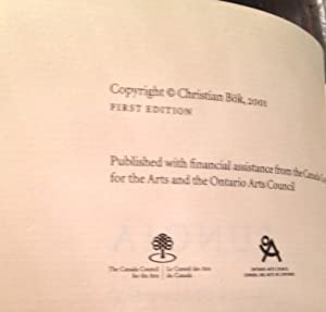 Eunoia (Signed First Edition): Bok, Christian