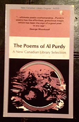 The Poems of Al Purdy (with signed letter to author John D. Macdonald)