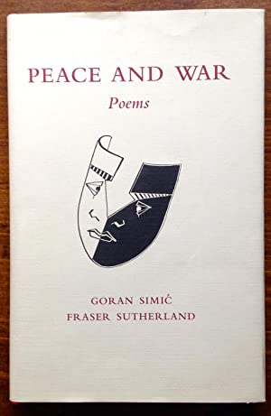Peace And War: Poems (Inscribed/Signed Copy)