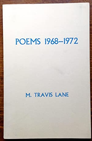 Poems 1968-1972 (Signed Copy)