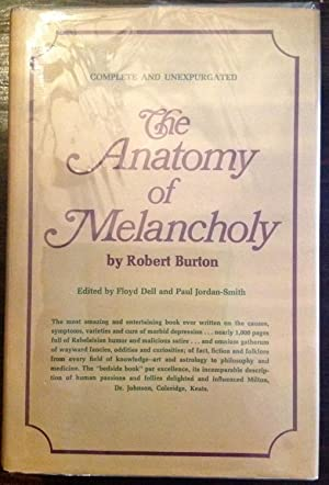 Robert Burton Anatomy Melancholy First Edition Abebooks
