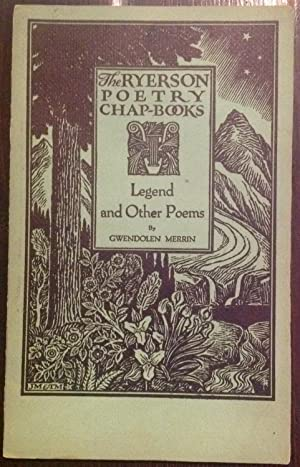 Legend and Other Poems (Inscribed Copy)