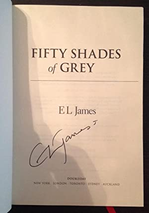 Fifty Shades of Grey (Signed First Edition)