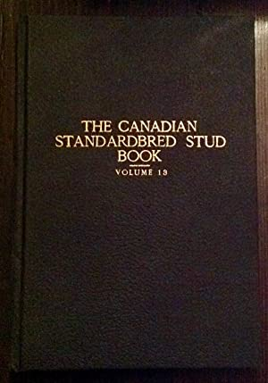 The Canadian Standardbred Stud Book, Volume 13