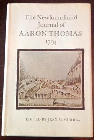 The Newfoundland Journal of Aaron Thomas 1794: Murray, Jean M.