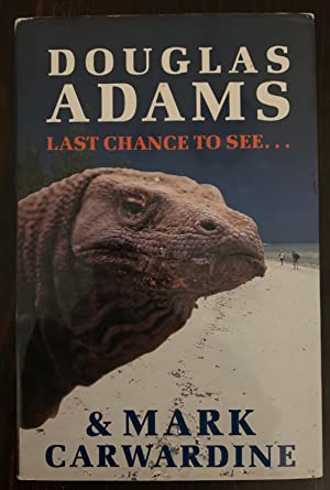 Last Chance To See.(Signed by Douglas Adams)