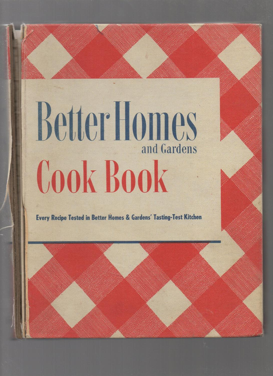 Better Homes And Gardens Test Kitchen Better Homes And Gardens Cook Book Revised Edition 24th Twenty