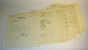 Signed Letters to Congressman George Outland on: McCormack, John W.
