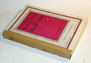 Bulletin of Pharmacy Vol. XXXI, 12 bound issues: Mason, Harry B, Ph.G, editor