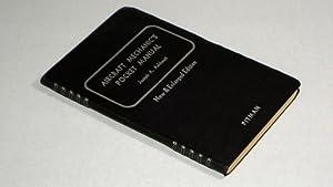Aircraft Mechanic's Pocket Manual New & Enlarged: Ashkouti, Joseph A.