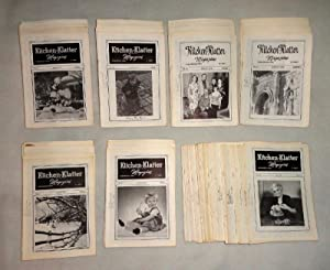 Kitchen Klatter Magazine, 105 issues, a broken run from 1963-1979: Driftmier, Leanna Field