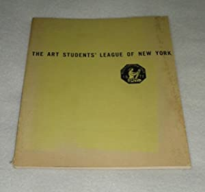The Art Students' League of New York Winter Season September 14, 1936, to May 28 1937: Anon
