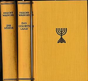 Josephus-Trilogie: Erster Band: Der jüdische Krieg /: Feuchtwanger, Lion.