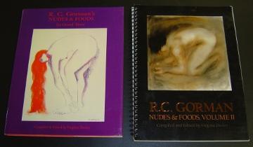 Nudes & Foods - 2 vols. Gorman, R.C.