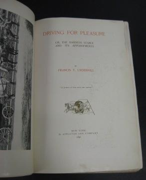 Driving for Pleasure: Underhill, Francis T.