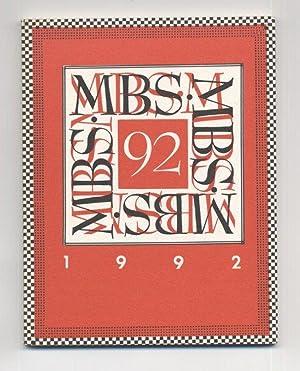 Catalog of the Miniature Book Exhibit '92: Adams, Maryline Poole