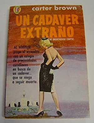 Un Cadaver Extrano: Brown, Carter. Translated