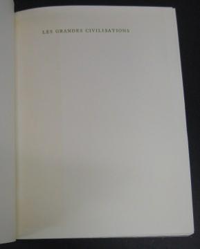 Les Grandes Civilisations. A Set of Twelve Volumes.: Bloch, Raymond, Editor