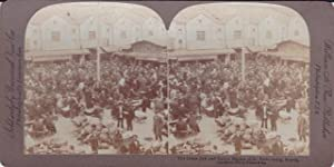 Photographie : The Great Jew and Tartar Market of St.Petersburg, Russie, William H. Rau