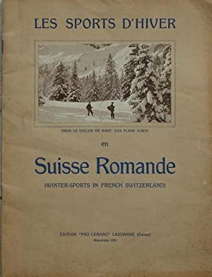 Les Sports d?Hiver dans le Vallon de Nant (Les Plans S/Bex) en Suisse Romande (Winter-Sports in F...
