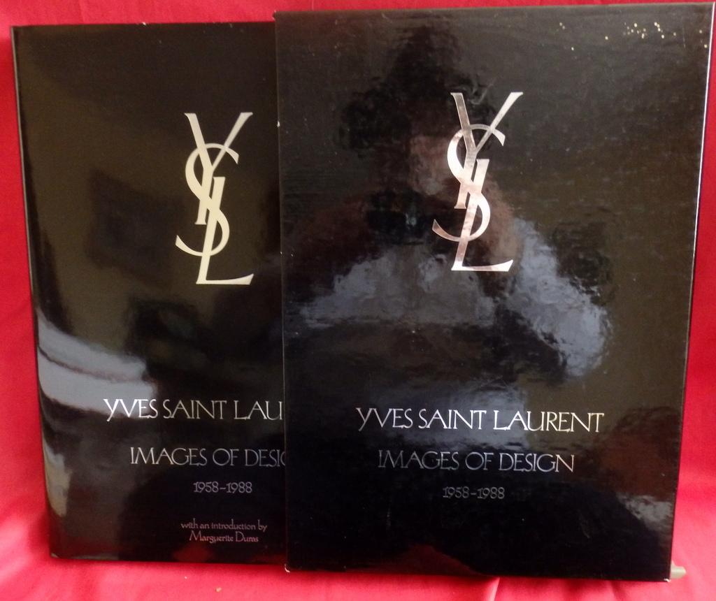 f6c87c0a595 Yves Saint Laurent: Images of Design 1958-1988 by Y. Saint laurent ...