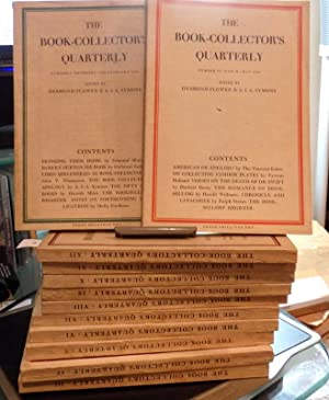 The Book Collectors Quarterly Nos 1-12. (of 17)