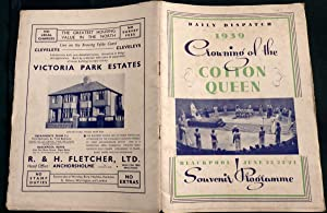 Daily Despatch. 1939 Crowning Of The Cotton Queen Blackpool June 22/24th Souvenr Programme.