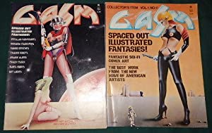 GASM. Spaced Out Illustrated Fantasy Sci-Fi ADULT graphic magazine. (Pop-art Graphic Magazine). N...