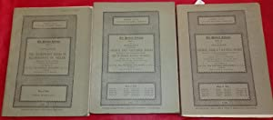 The Holford Library catalogues. 3 volumes. 1927 & 1928