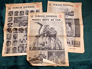 Jubilee Journal 1857-1957. (The 9th Scouts Movement Jamboree). 3 Newspapers No's 9-11 August 10th...