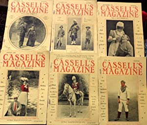 My Indian Queen. Complete in 6 monthly parts CASSELL's Magazine June-November 1900.