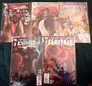 The Jokers Asylum II. Complete SET. Numbers 1-5. 2010 Inc; Harley Quinn with Claudio Castellini c...