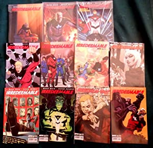 Irredeemable . Volumes 1-3. Volumes 1-3 (parts 1-12) and also in single issue format Numbers 13-2...