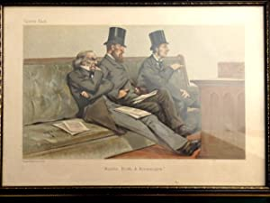Babble, Birth and Brummagem. Vanity Fair Lithograph by