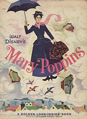 Walt Disney's MARY POPPINS A Golden Look-Inside Book: Walt Disney Studio(Author & Illustrator)