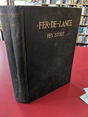 Fer-De-Lance: Rex Stout