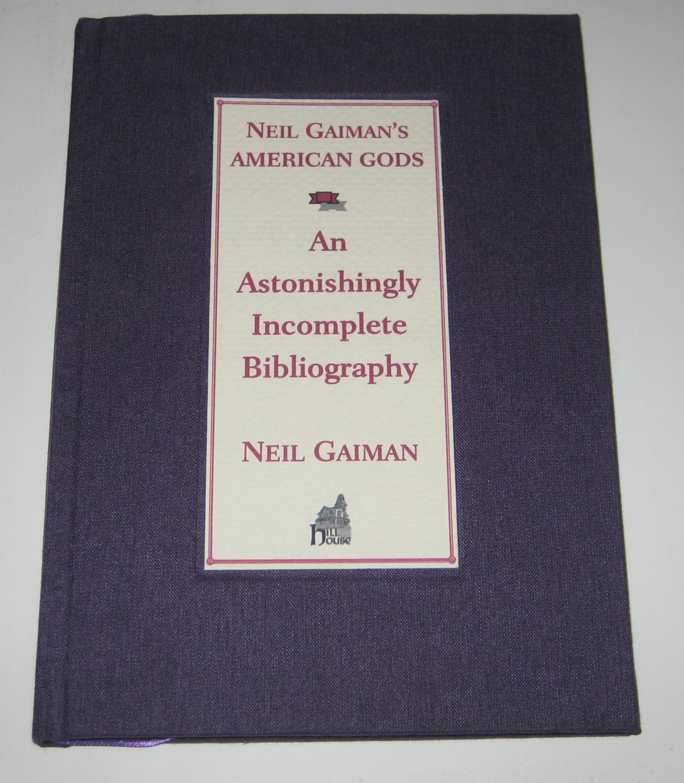 Neil gaiman bibliography