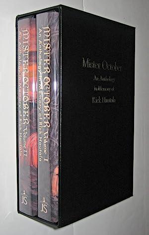 Mister October - An Anthology in Memory: Golden, Christopher (editor)
