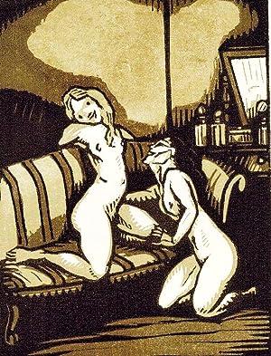Les Amies. Sonnets agrémentés de vignettes en: VERLAINE (Paul).