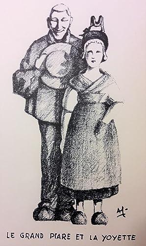Santons Bourbonnais. Rédigé, illustré et édité par: GERVAIS (André).