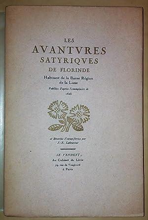 Les Avantures Satyriques de Florinde. Habitant de: LABOUREUR (J.-E.).