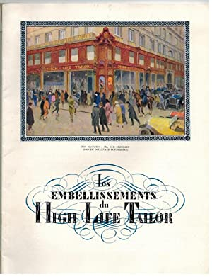 Les embellissements du High Life Tailor. Printemps-Eté 1923.