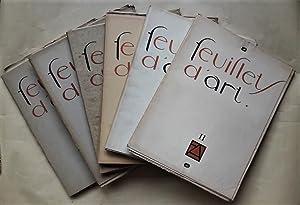 Feuillets d'Art. N°1 (31 mai 1919) au: FEUILLETS D'ART.