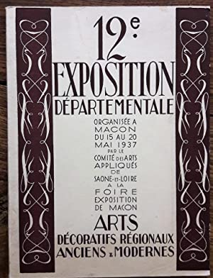 Exposition départementale de Macon du 15 au 20 mai 1937. Catalogue.