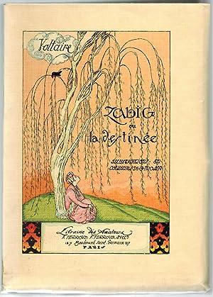 Zadig. Nombreuses illustrations en couleurs par Gustave-Adolphe: VOLTAIRE.