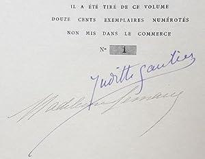 Lettres inédites. Recueillies par Judith Gautier et: SEVIGNE (Mme de).