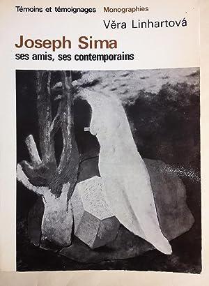 Joseph Sima, ses amis, ses contemporains.: LINHARTOVA (Vera).