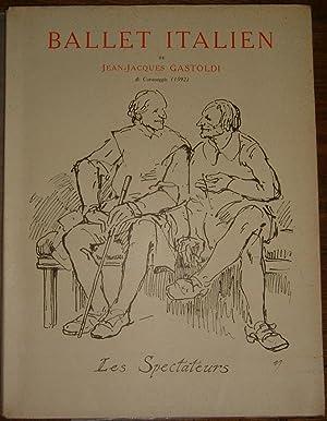 Ballet italien. Extrait d'un cahier de musique du XVIe siècle.: GASTOLDI (Jean-Jacques ...